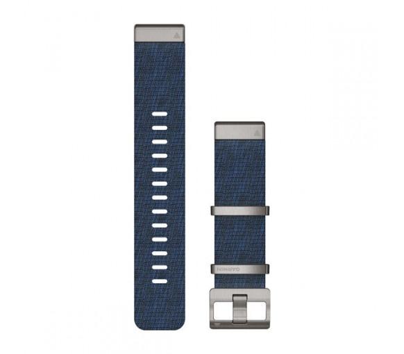 Garmin MARQ™ 22 mm QuickFit Jacquard-weave Nylon Band - 010-12738-02