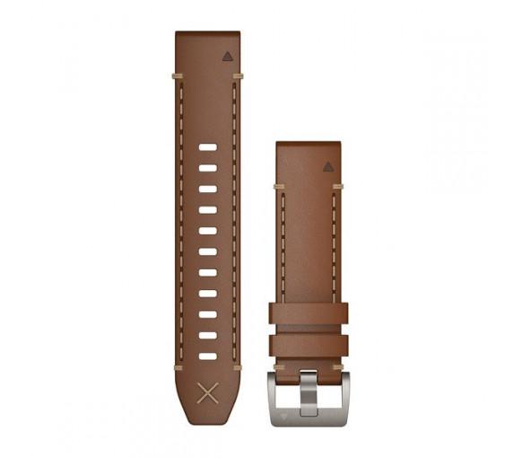 Garmin MARQ™ 22 mm QuickFit Italian Vacchetta Leather - 010-12738-04