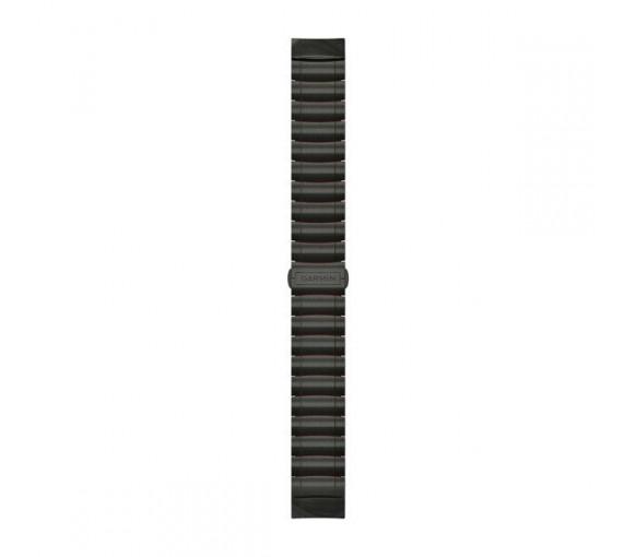 Garmin MARQ™ 22 mm QuickFit Hybrid Titanium Silicone Band - 010-12738-00