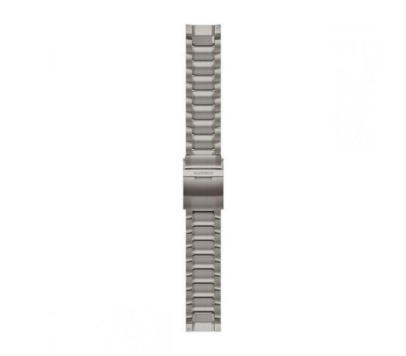 Garmin MARQ™ 22 mm QuickFit Swept-link Titanium Band - 010-12738-01