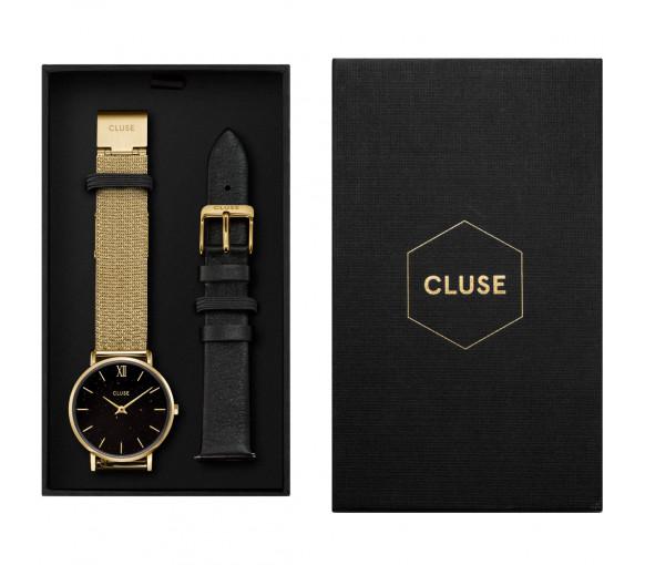 Cluse Minuit Mesh Gold Gift Box - CG10201