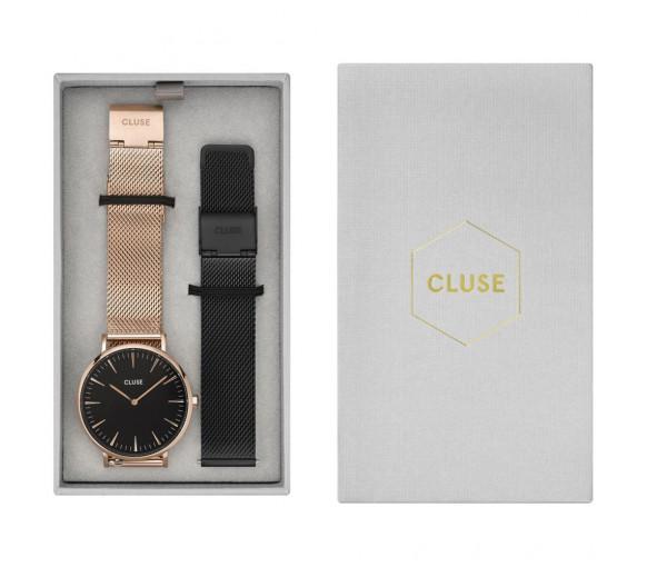 Cluse La Bohème Mesh Rosé Gift Box - CG1519201003