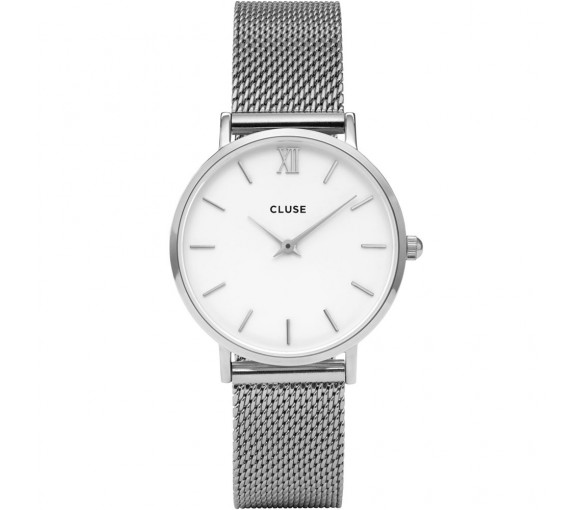 Cluse Minuit Mesh Silver - CW0101203002