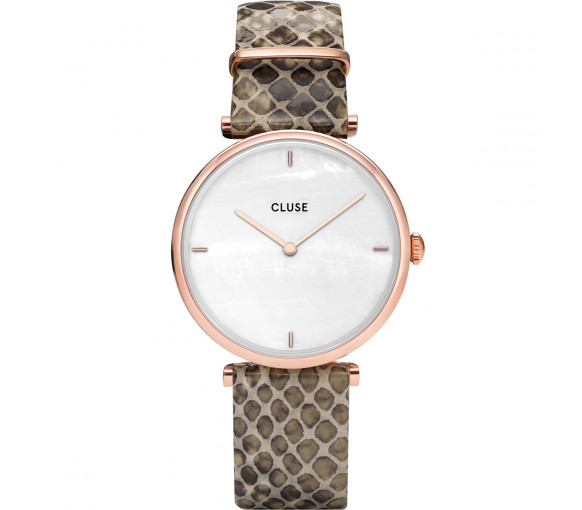 Cluse Triomphe Rosé Python - CL61007