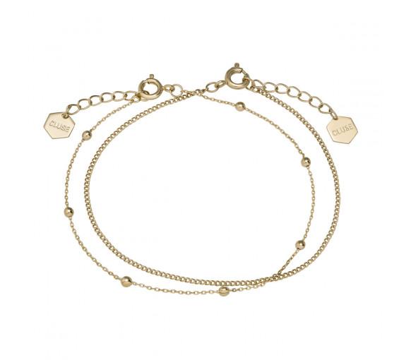 Cluse Essentielle Gold Set of Two Fine Bracelets - CLJ11010