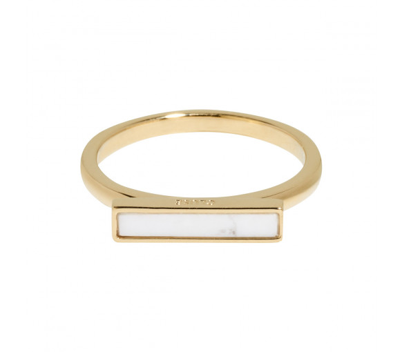 Cluse Idylle Gold Marble Bar Ring - CLJ41002