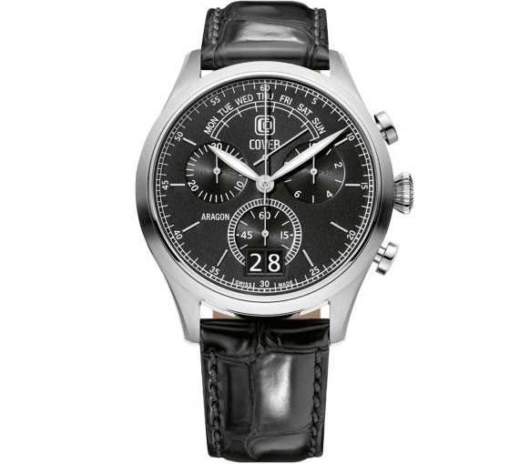 Cover Co170 Aragon Gent Day Retrograde Chronograph - CO170.03