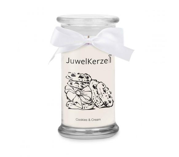 JuwelKerze Cookies & Cream
