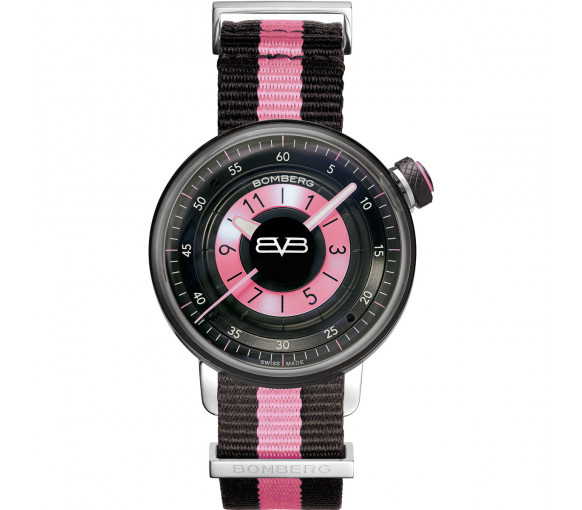 Bomberg BB-01 Black & Pink - CT38H3PBA.05-2.9