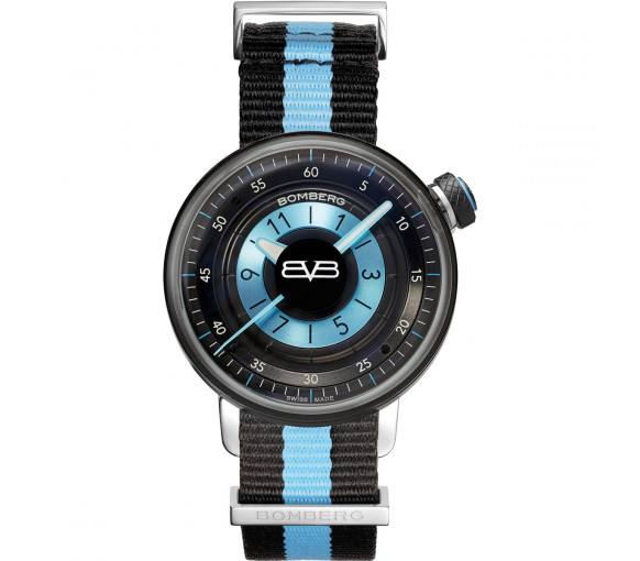 Bomberg BB-01 Black & Blue - CT38H3PBA.06-2.9