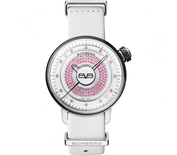 Bomberg BB-01 Lady Skylighter Pink & White - CT38H3SS.12-1.9