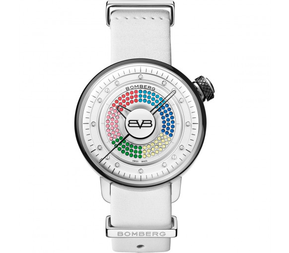 Bomberg BB-01 Lady Skylighter White - CT38H3SS.13-1.9