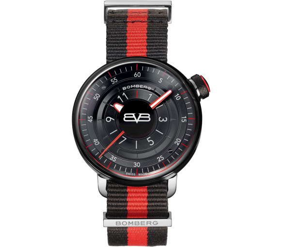 Bomberg BB-01 Black & Red - CT43H3PBA.01-2.9