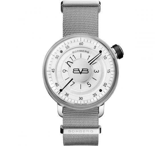 Bomberg BB-01 Ivory & Silver - CT43H3SS.02-2.9