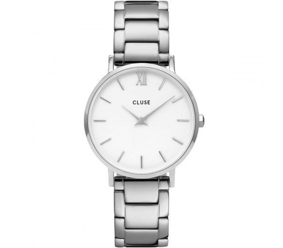 Cluse Minuit  Three Link Silver - CW0101203026