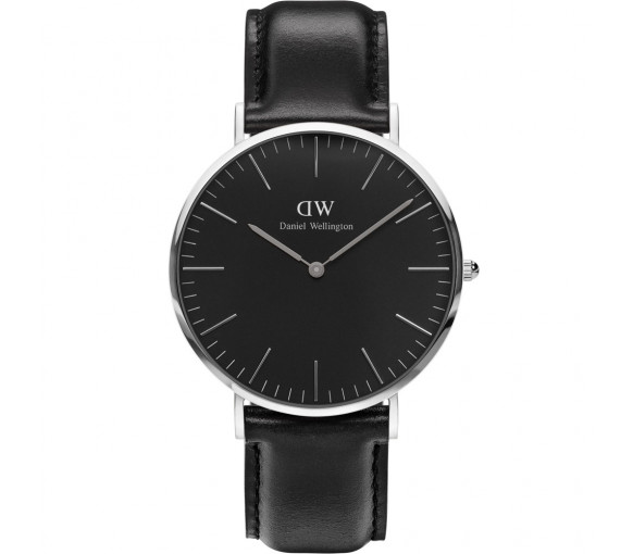 Daniel Wellington Classic Black Sheffield Silver