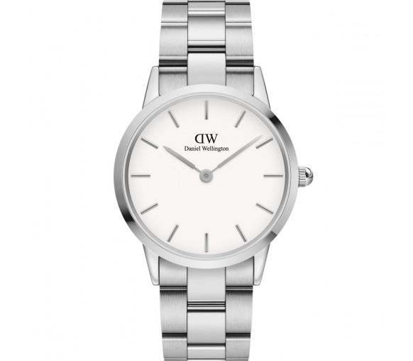 Daniel Wellington Iconic Link White Silver