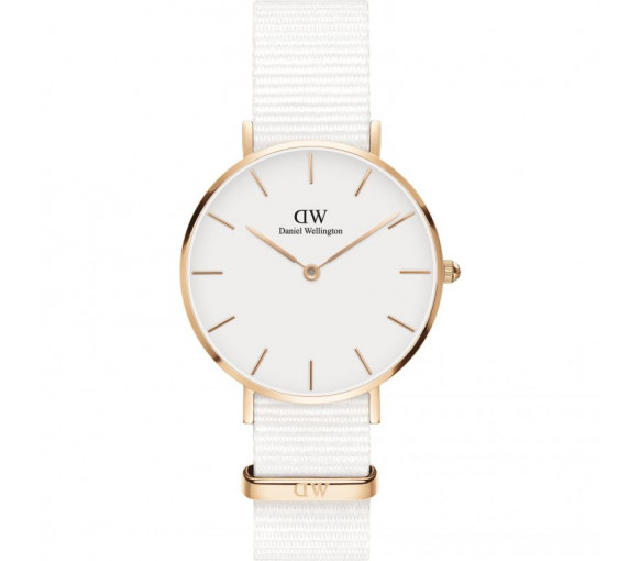 Daniel Wellington Classic Petite Dover White Rose Gold