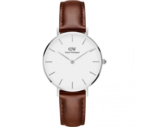 Daniel Wellington Classic Petite St. Mawes White Silver