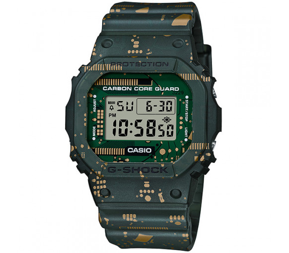 Casio G-Shock Circuit Board Camo Limited Edition - DWE-5600CC-3ER