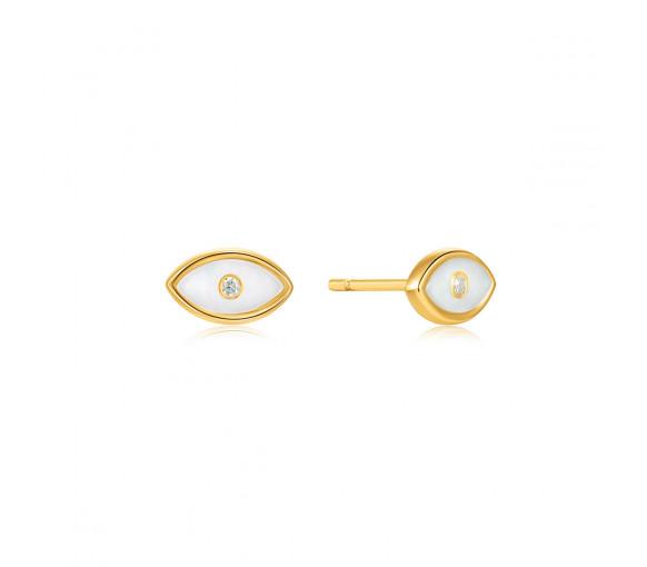 Ania Haie Evil Eye Gold Stud Earrings - E030-02G