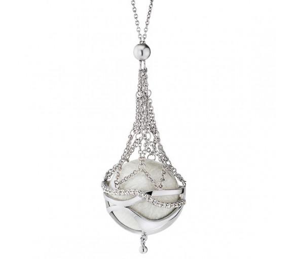 Engelsrufer Halskette Paradise Silber Klangkugel - ERN-20-PARADISE-ZI