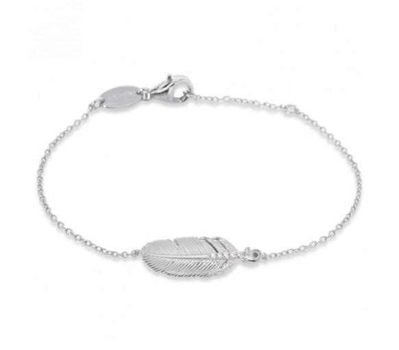 Engelsrufer Armband Feder - ERB-LILFEDER-ZI