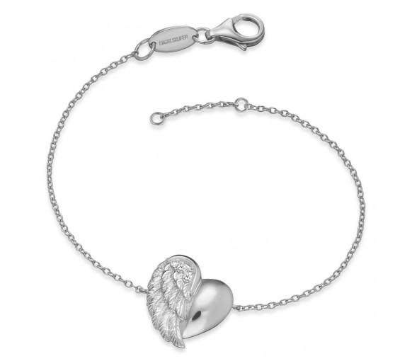Engelsrufer Armband Herzflügel - ERB-LILHEARTWING