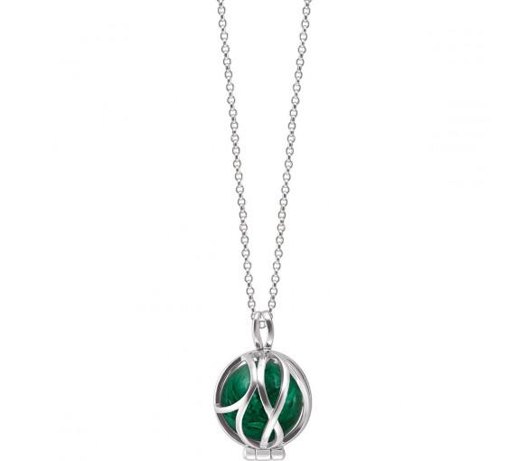 Engelsrufer Powerful Stone Paradise Malachit Halskette - ERN-HEALPARA-ML-XS