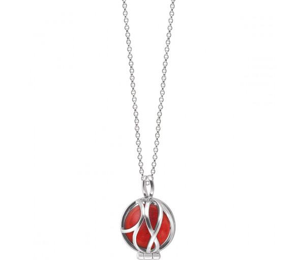 Engelsrufer Powerful Stone Paradise Roter Jaspis Halskette - ERN-HEALPARA-RJ-XS