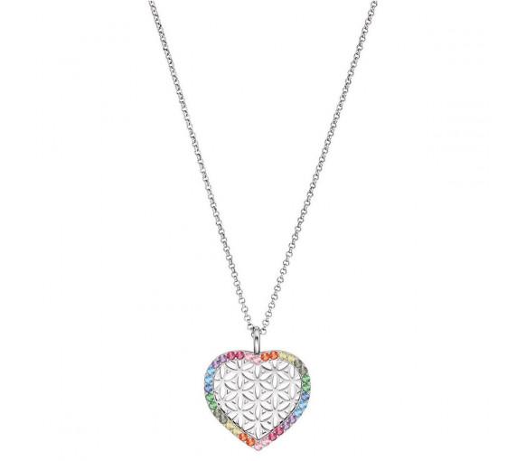Engelsrufer Herz Lebensblume Halskette - ERN-HEARTLIFL-ZIM
