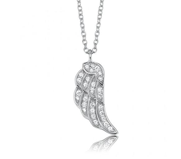 Engelsrufer Halskette Flügel Silber - ERN-LILWING-ZI