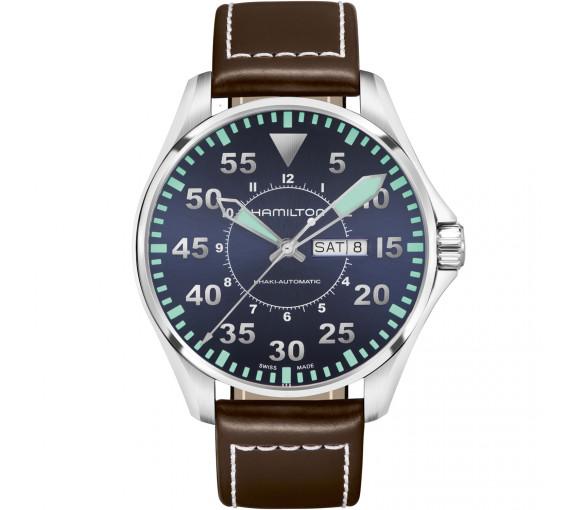 Hamilton Khaki Aviation Day Date Pilot Auto - H64715545