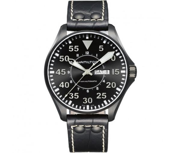 Hamilton Khaki Pilot Day Date Auto - H64785835