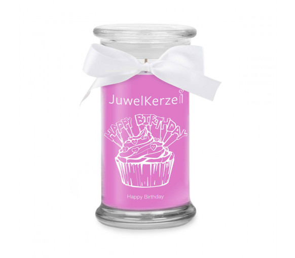 JuwelKerze Happy Birthday