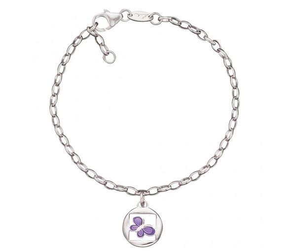 Herzengel Armband Schmetterling - HEB-06NATURE