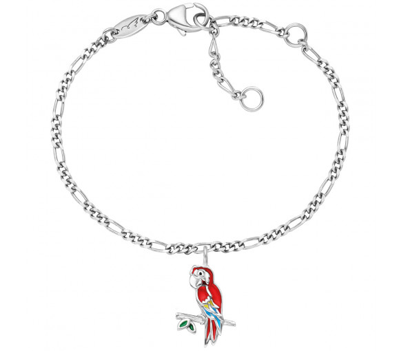 Herzengel Papagei Armband - HEB-PARROT