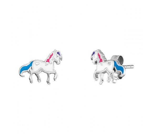 Herzengel Pferd Ohrstecker - HEE-HORSE