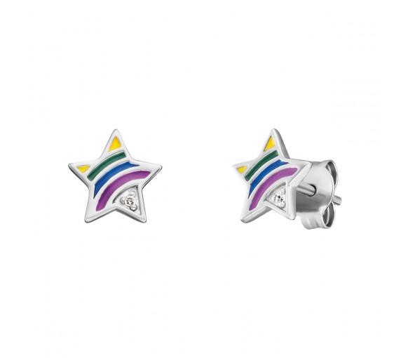 Herzengel Ohrstecker Stern Rainbow - HEE-STAR-RAINBOW