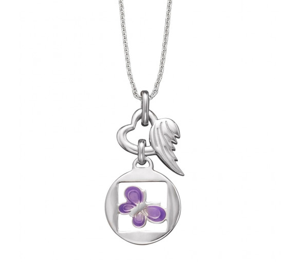 Herzengel Halskette Schmetterling - HEN-06NATURE