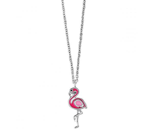 Herzengel Halskette Flamingo - HEN-FLAMINGO