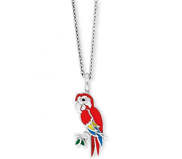 Herzengel Papagei Halskette - HEN-PARROT