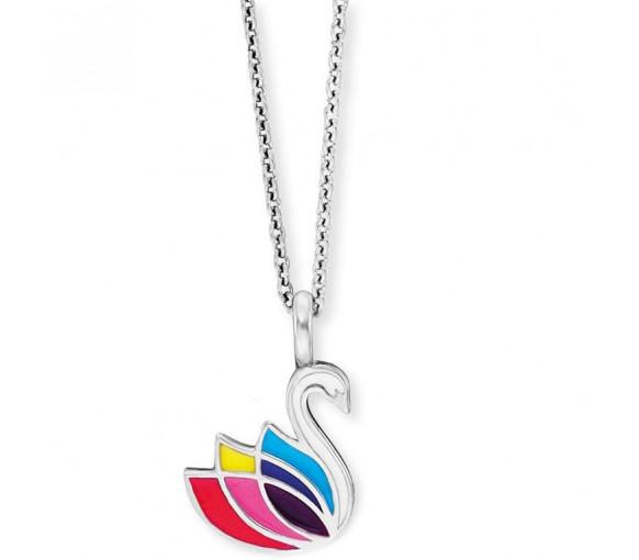 Herzengel Schwan Halskette - HEN-SWAN