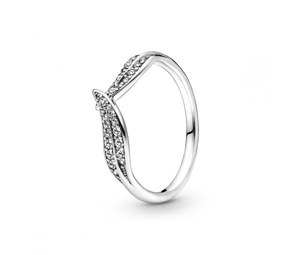 Pandora Sparkling Leaves Ring - 199533C01
