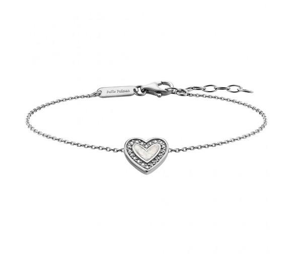 Julie Julsen Amore Armband Herz Silber - JJBR0322.1