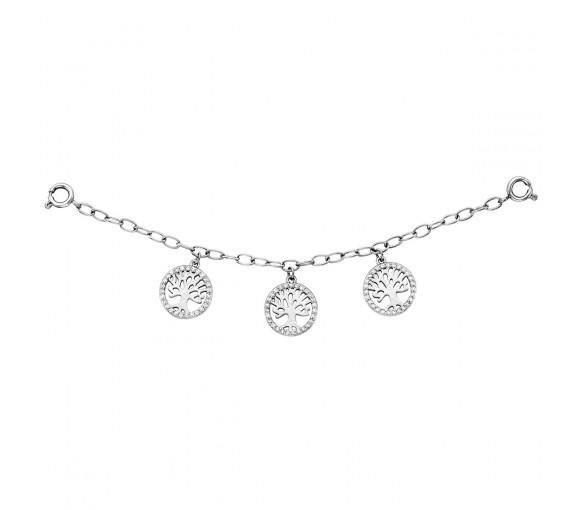 Julie Julsen Charming Lebensbäume Uhrenkette - JJCG25503-1