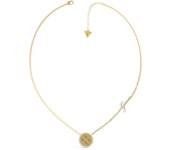 Guess Round Harmony Halskette - JUBN01155JWYGT-U