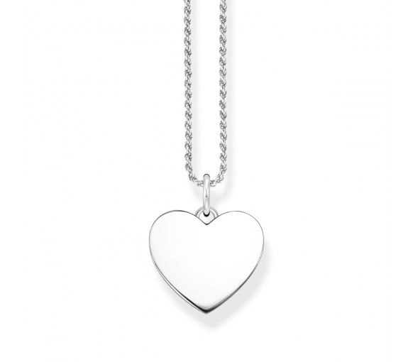Thomas Sabo Herz Halskette Silber - KE2132-001-21-L50
