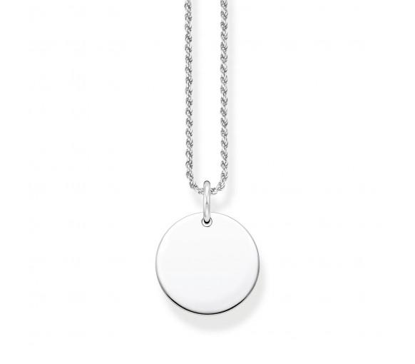 Thomas Sabo Coin Halskette Silber - KE2133-001-21-L50