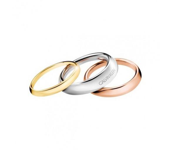Calvin Klein Groovy Ring - KJ8QDR3001